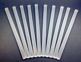 PVC áttetsző ragasztórúd 11×200mm.