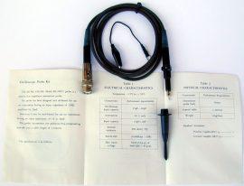 HC-OP27 oszcilloszkóp mérőfej